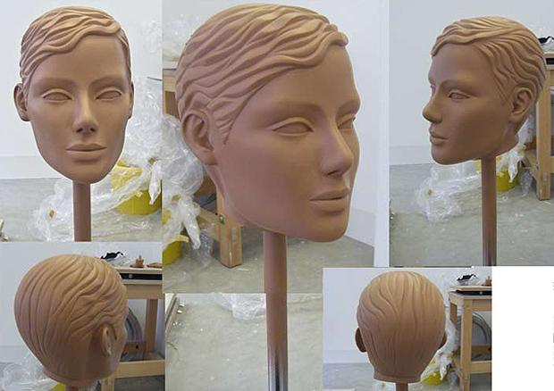 Laura Ashley Sculpted Head 2nd Generation