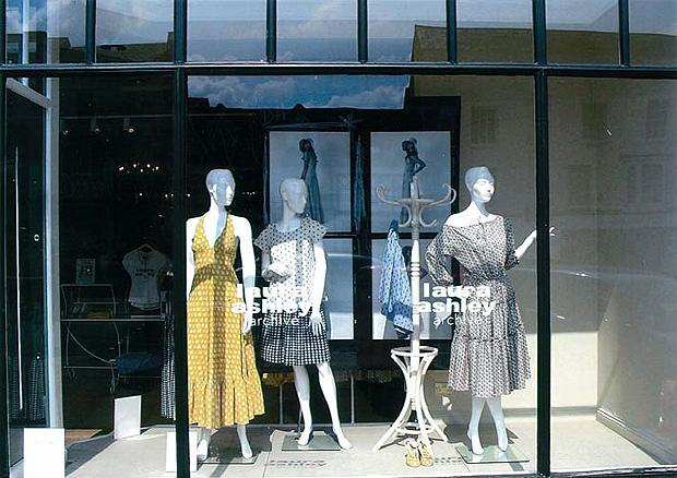 Mannequins for Laura Ashley