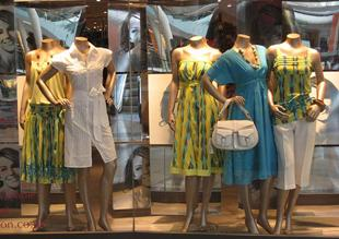Monsoon Window Universal Display bespoke Mannequin