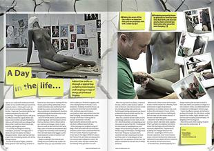 A1 Retail Magazine Article Adrian Coe Day in the life
