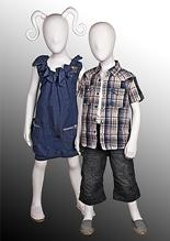 New Kidz 4 Range of Children's Mannequins from Universal Display image