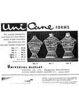 Universal Display Advert For Cane Forms image