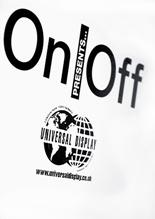 Universal Display Sponsor On|Off as part of  British Fashion week image
