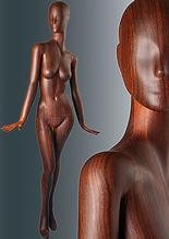 Wooden Finish Mannequins image